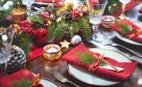 CHRISTMAS MENU': TOP-TEN A TAVOLA Copertina