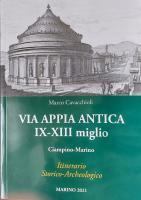 Via Appia Antica IX-XIII miglio - Il Libro Copertina