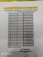 Lotteria Carnevale Insieme 2020 - Numeri Estratti Copertina