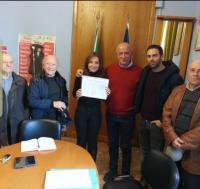Delegazione: il CdQ S. Maria delle Mole consegna quasi 2000 firme Copertina