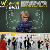Kung Fu - Grande successo di partecipazione al Corso Anti bullismo del M. Capaldi Copertina
