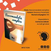 """""""Raccomandata semplice"""": è uscito il primo romanzo di Eleonora Persichetti Copertina"""