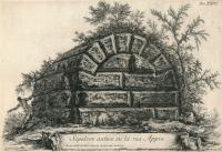 Giovàn Battista Piranesi sulla via Appia a Marino Copertina