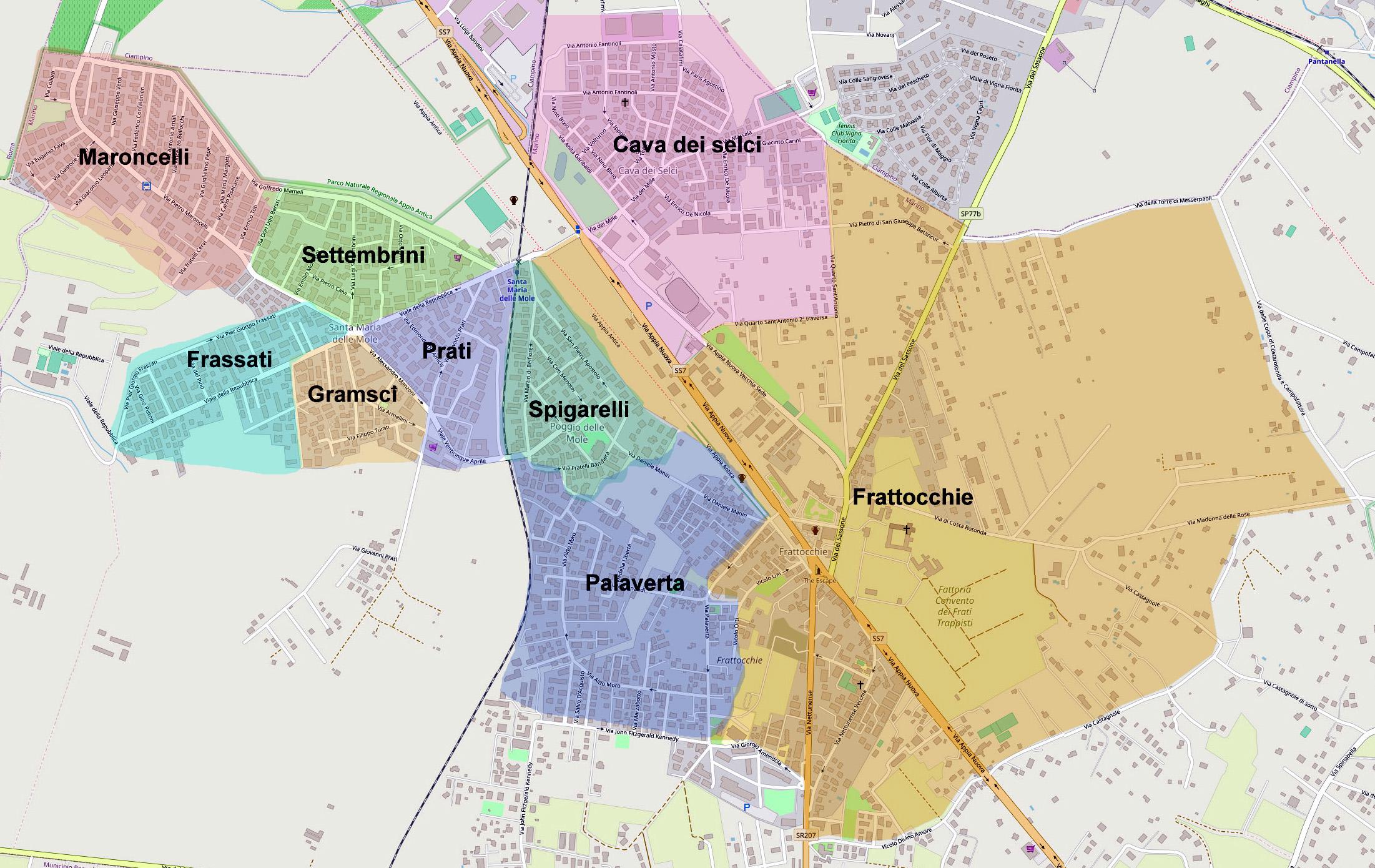 Cartina Roma Ciampino.Santa Maria Delle Mole Articoli Smariamole Santamariadellemole